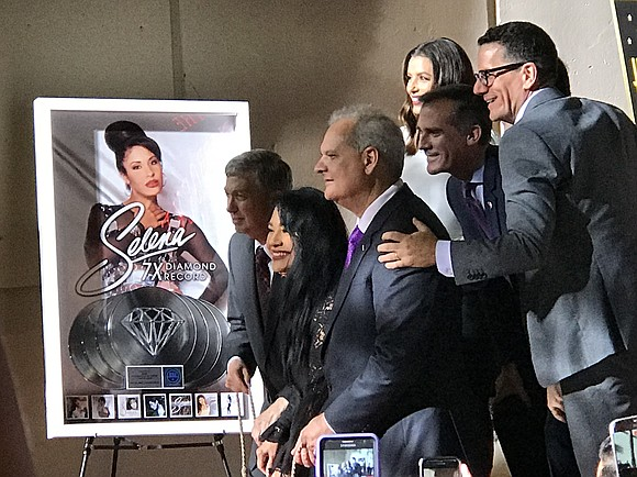 The late Selena Quintanilla, the undisputed Queen of Tejano music, was memorialized with a much-anticipated star on the Hollywood Walk ...