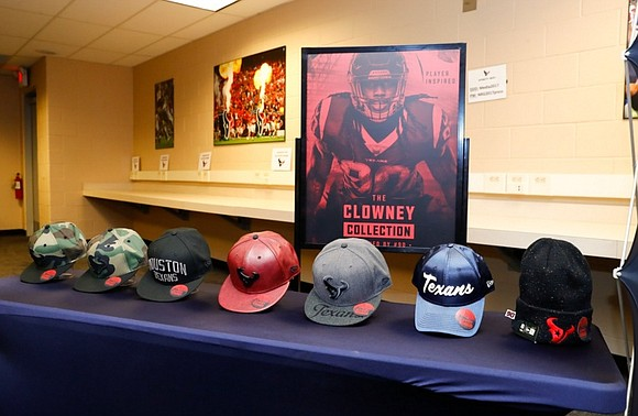 The Houston Texans celebrated the fourth season of the Houston Texans Player Inspired Line featuring The Clowney Collection by Jadeveon ...