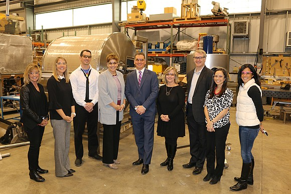 State Senator Jennifer Bertino-Tarrant visited SPEC Engineering in Plainfield recently to learn more about local manufacturing.
