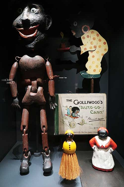 Golliwogg figures at the National Museum of African American History and Culture.