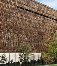 The National Museum of African American History and Culture in Washington D.C.