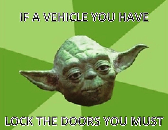 If you've been locking your car doors at night because you know that it's the number one way to prevent ...