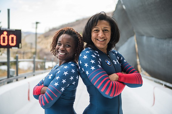Just as track athletes have before her, Jones has taken up the sport of bobsled and is racing full speed ...
