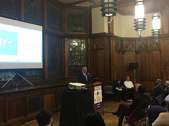 Newly appointed Executive Director of the New York State Democratic Party Geoff Berman recently visited Harlem to discuss his new ...