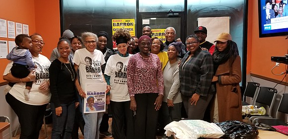 East New York came through for incumbent City Councilwoman Inez D. Barron, who was re-elected Nov. 7, 2017, to the ...