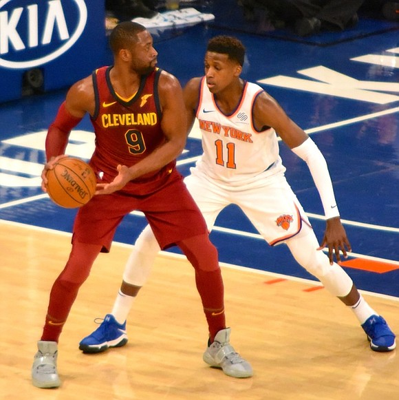 Monday night at Madison Square Garden, Frank Ntilikina officially became a New Yorker, ceremoniously assuming his place as a New ...