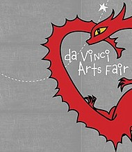 The 13th annual da Vinci Middle School Arts Fair takes place at the school on Saturday, Dec. 2 from10 a.m. to 4 p.m.