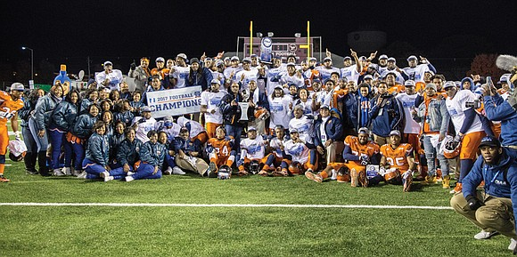 Virginia State University snared the CIAA football championship in dominant fashion. Now the Trojans are eyeing an even bigger game.