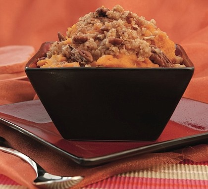 Sweet Potato-Pumpkin Puree