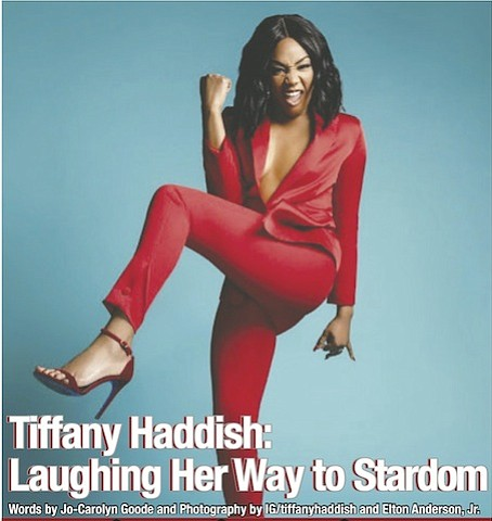 Laughter is the best medicine and that could not be truer than for actress, comedian and now author Tiffany Haddish. ...