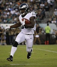 Eagles running back Corey Clement played for Glassboro High School where he starred in football and track and field.