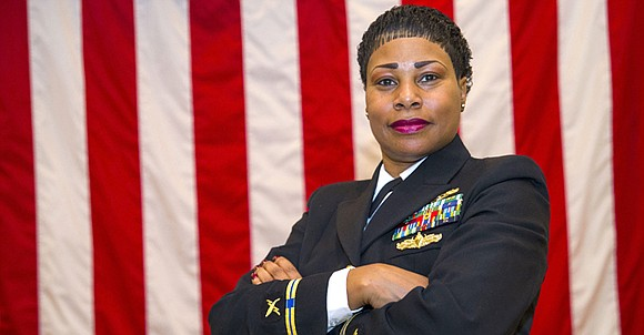 Chief Warrant Officer 5 Valencia Simmons-Fowler became the first African American woman to achieve the highest chief warrant officer rank ...
