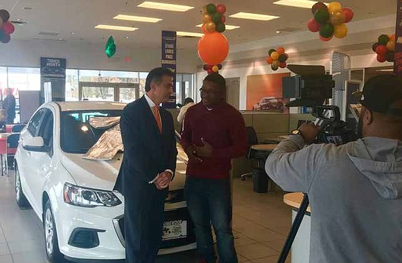 """""""Chevrolet of Homewood in conjunction with the great people that live around us are going to give away this brand ..."""