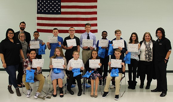 The Shorewood Lions Club recognized Troy Community School District 30-C October Students of the Month at the school district's November ...
