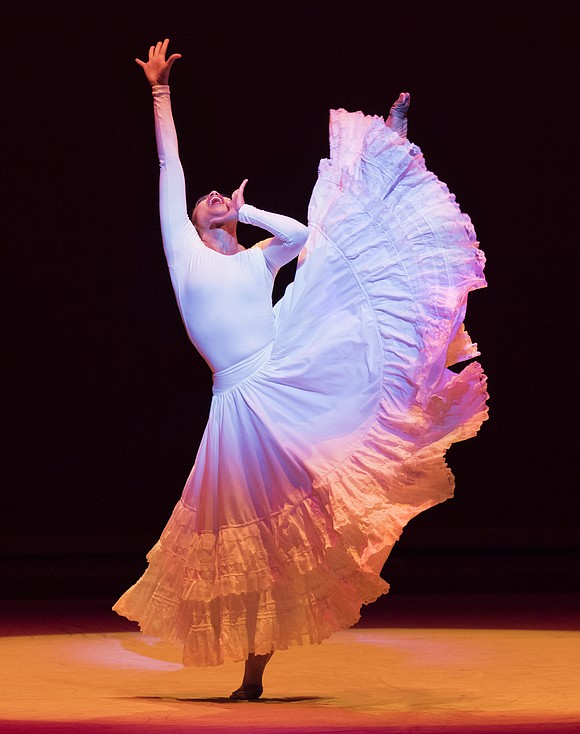 Alvin Ailey American Dance Theater dancer Linda Celeste Sims is so down to Earth it's easy to forget the tape ...
