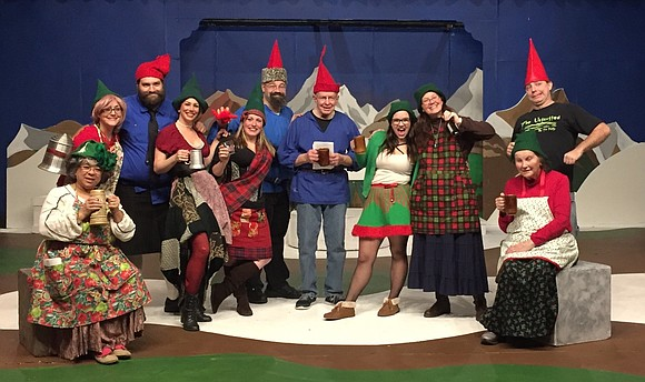 """The Drunk'n Gnome"" will stagger back into town for one show only on Saturday, December 2 in Joliet's Bicentennial Park ..."
