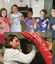 Girls learn about self-defense, safety and setting boundaries in GirlsStrength, a companion program to WomenStrength.