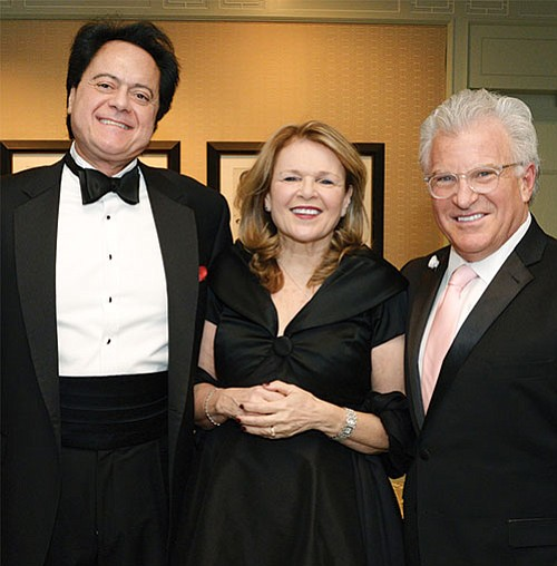 Mary Ann O'Connor, VNA Care president and CEO, with gala honorees Richard Rakowski, CEO of Medically Home Group, and Dr. Pierantonio Russo, vice president of health services for Harvard Pilgrim Health Care