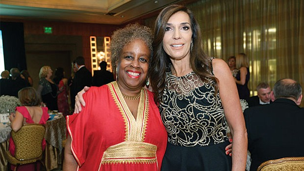 Donna Dupee, member of the Host Committee and Debra Angeloni, co-chair of the Gala Host Committee