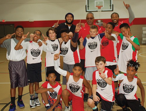 Congratulations to the 5th and 6th grade boys basketball team from the Northeast Blazer's Boys and Girls Club for winning ...
