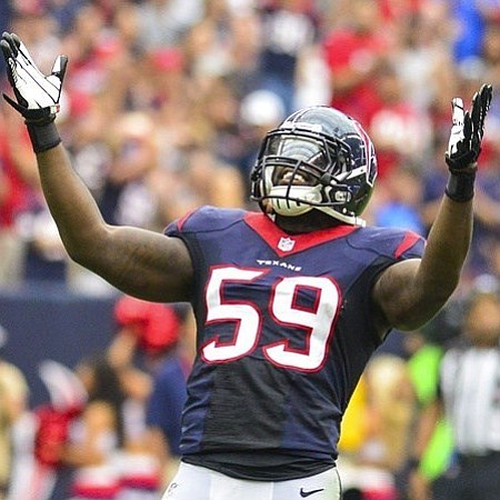 "Understanding that it is ""better to give than to receive,"" Houston Texans Whitney Mercilus and the WithMerci Foundation embraces the ..."
