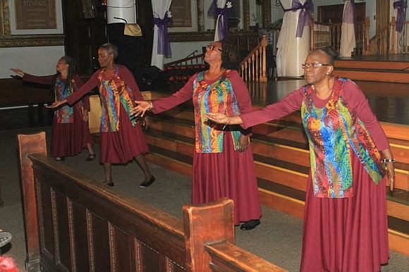 Saturday, Nov. 11, 2017, the Angels of Transformation Sacred Dance Group celebrated their third year anniversary entitled Holy Boldness at ...