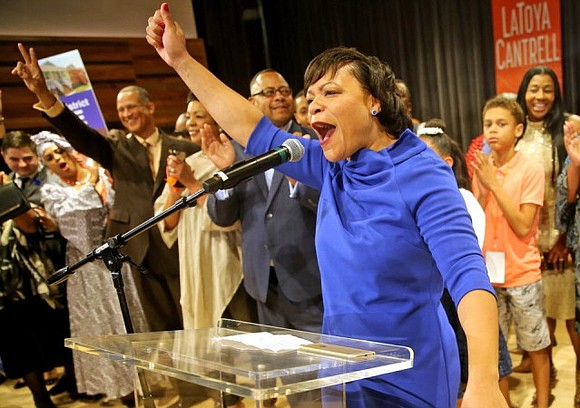 LaToya Cantrell, a City Council member who first gained a political following as she worked to help her hard-hit neighborhood ...