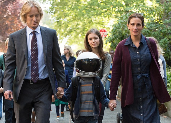 """The savvy marketing team for the film """"Wonder"""" sent out the children novel """"Wonder"""" by Raquel Jaramillo months before the ..."""