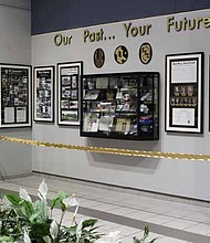 South Suburban Community College celebrated their 90-year anniversary by dedicating a new permanent display of the school's history and legacy on Nov. 9.