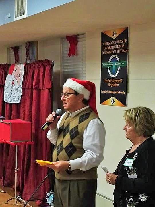 "Thornton Township President Frank M. Zuccarelli officially began the Christmas season celebration. President Zuccarelli said, ""We enjoy being one of ..."