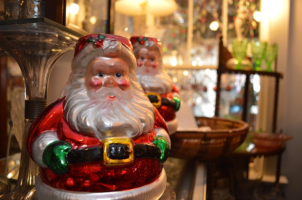 Inside Sunnyside Antiques in Plainfield, shoppers will find items for the Christmas shopping list that they won't find anywhere else.