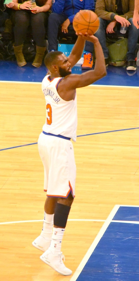 Almost one-quarter into the season, the Knicks were 10-10 when they faced the Miami Heat last night at Madison Square ...