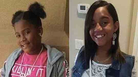 Authorities began a search this week for two girls who were last seen in the..