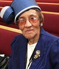 Born on Thanksgiving Day November 26, 1917, Margo Purdy celebrated her 100th birthday on Sunday, November 26, 2017 at Mt. Lebanon Baptist Church. May God continue to bless you! Happy Birthday Mrs. Purdy.
