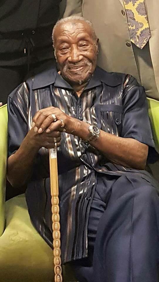 "Luke Dixon, an African American ""Buffalo"" soldier who..."