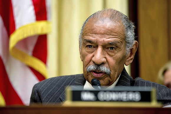 Democratic Rep. John Conyers resigned from Congress on Tuesday after a nearly 53-year career, becoming the first Capitol Hill politician ...