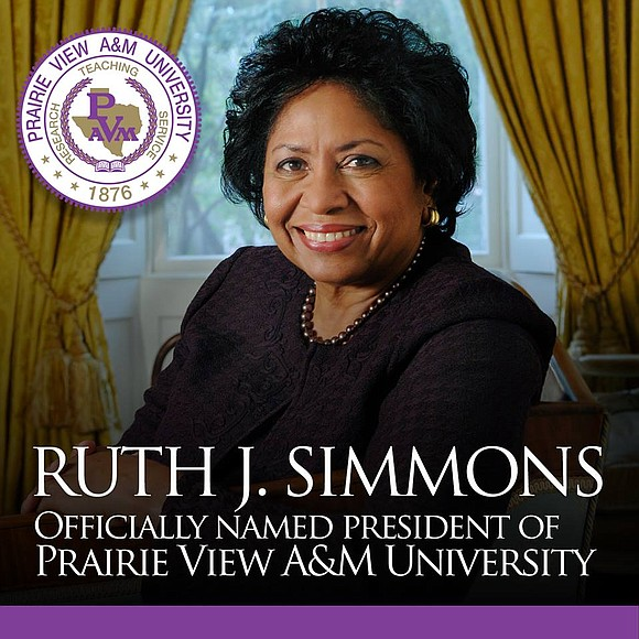 The Board of Regents of the Texas A&M University System unanimously voted Monday to name Dr. Ruth J. Simmons, a ...