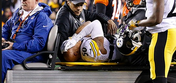 Pittsburgh Steelers linebacker Ryan Shazier was hospitalized after suffering a back injury during the first quarter of Monday's 23-20 victory ...