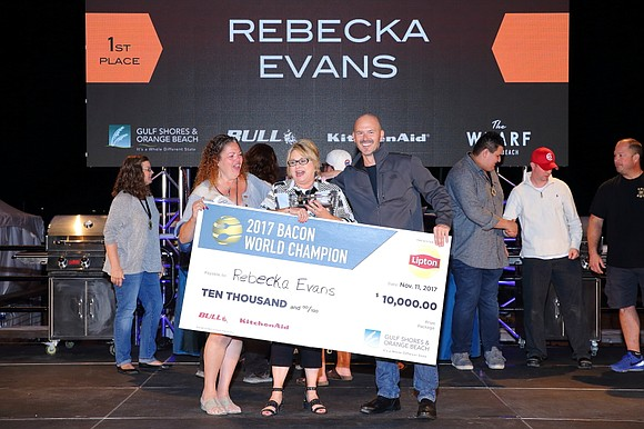 Rebecka Evans from Houston, Texas, knows how to bring home the bacon, $10,000 worth that is! The stay-at-home mom and ...