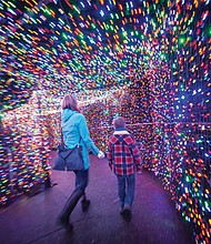The amazement from more than 1.6 million brightly colored lights is an experience you don't want to miss. ZooLights, the Oregon Zoo popular walk-through winter wonderland is now showing through the holidays.