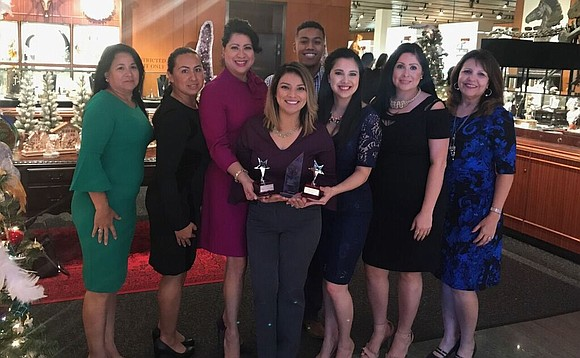 The Houston Hispanic Chamber of Commerce was named the 2017 Marketer of the Year for the Economic Development category during ...