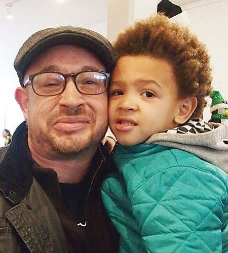 It's been a double-edged sword. Nationally, it's a mess. His policies have been horrible. But people are coming together at the local level. There's been a surge in arts and community projects run by people of color.—Cagen & Coleman Luse, Graphic Designer, Son, Roxbury
