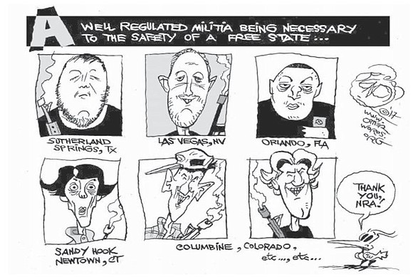 The excellent editorial cartoon and commentary about gun control (Preventing Gun Deaths and Protecting Gun Rights, Portland Observer, Nov. 15 ...