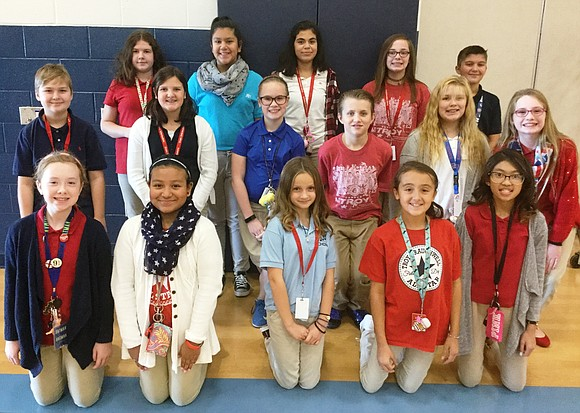 A group of William B. Orenic Intermediate School 6th grade choir students has been invited to sing at the Dec. ...