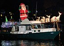 The beloved holiday tradition featuring boats decorated with festive lights will be visible from the M. James Gleason Memorial Boat Ramp on the Columbia River across from the Portland Airport on scheduled nights in December.