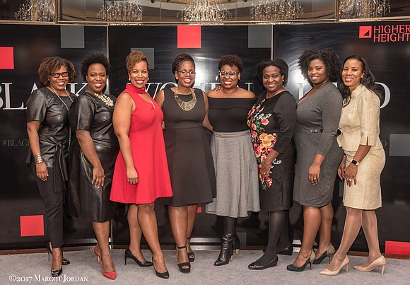 The Rainbow Room was the venue for the fabulous Higher Heights Black Women Lead event