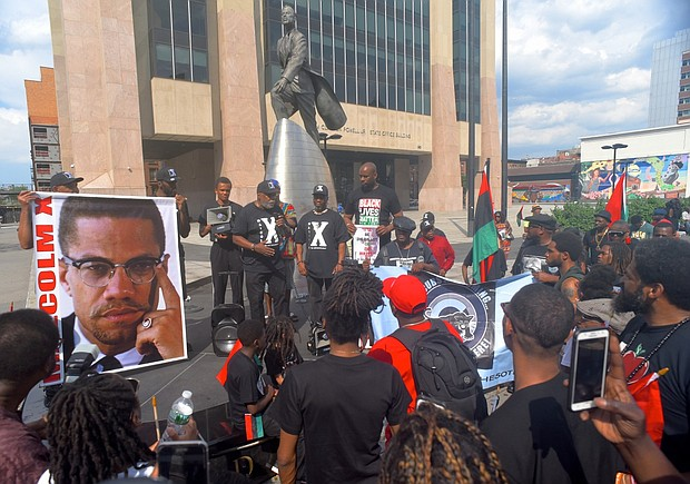 Malcolm X rally