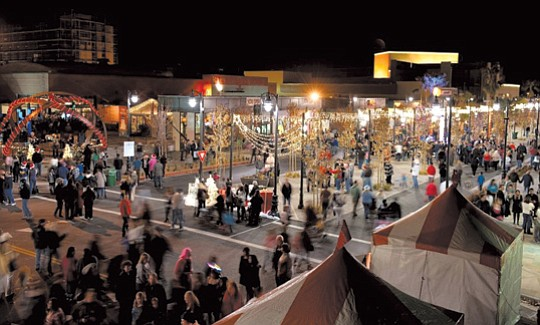 Downtown Lancaster will set the scene tomorrow from 5 to 9 p.m. for the Antelope Valley's..