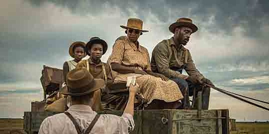 "The film ""Mudbound"" opens with claustrophobic shots of the brothers McAllan.."