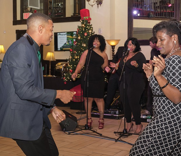 Dancing and singing the night away